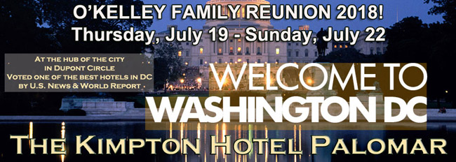 2018 O'Kelley Family Reunion, Washington, DC