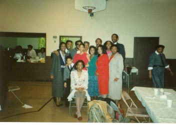 1992- Vernice Smith's funeral